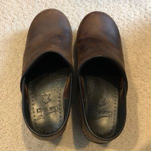 Dansko Brown Leather Shoes